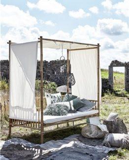 mandisa sofa, daybed bambus lene bjerre