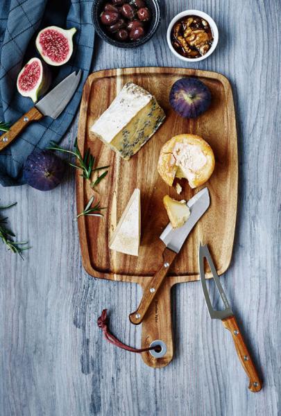 nicolas vahe ostesett, ostekniver med skjærebrett