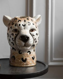 cheetah vase byon design