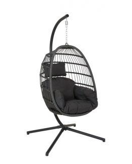 hengestol, hammock, polyrotting, kunstrotting, utemøbel, utestol, god kvalitet