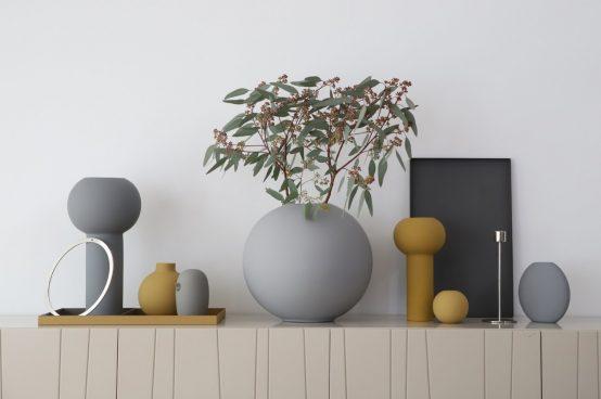 keramikk bird grey cooee design