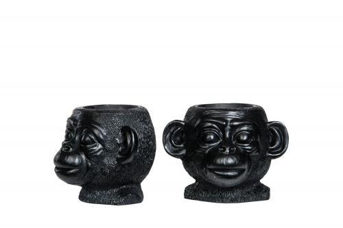 apekrukke, blomsterpotte ape alot decoration