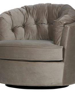 carousel sving stol i velour velvet lenestol