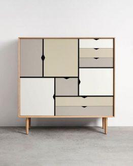 S3 B:130 Såpe eik/ Farget Andersen Furniture