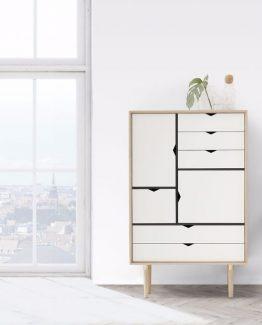 S5 Naturolje eik/ hvit Andersen Furniture