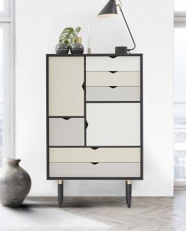 S5 sort/ hvit Andersen Furniture