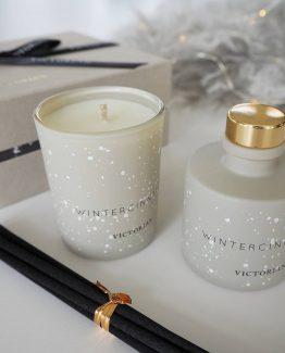 wintercinnamon victorian candles byon duftelys juleduft