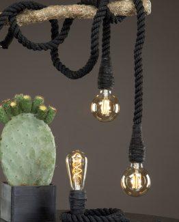 lampe, rep, nordisk design, minimalistisk lampe, utelampe, innelampe, hamptons inspirert lampe, pynte lampe