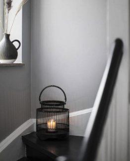 A Simple Mess, bambus, lys lykt, lanterne, håndlaget