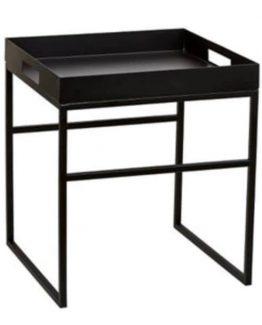 stål bord, bord med vendbar topp, kvadratisk bord, stuebord, kaffebord, sidebord, minimalistisk bord, nordisk stil