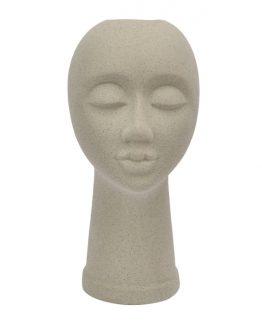 Sandy vase ansikt figur blomsterskjuler martinsen